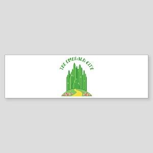 The Emerald City Bumper Sticker