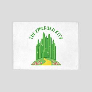 The Emerald City 5'x7'Area Rug