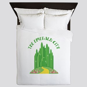 The Emerald City Queen Duvet