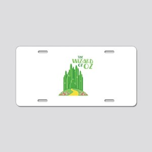 The Wizard Of Oz Aluminum License Plate