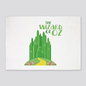 The Wizard Of Oz 5'x7'Area Rug