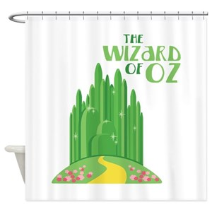 Wizard Oz Shower Curtains
