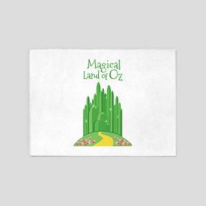 Magical Land Of Oz 5'x7'Area Rug