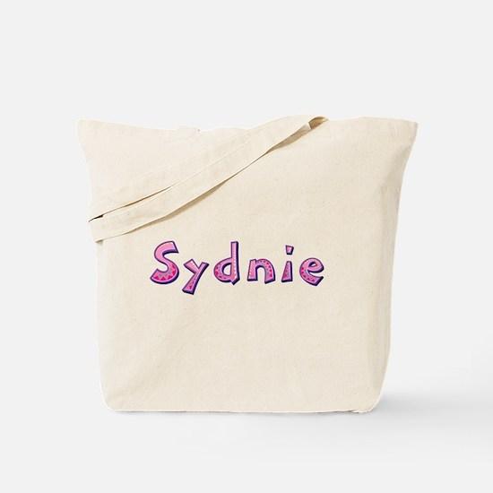 Sydnie Pink Giraffe Tote Bag