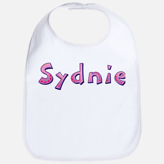 Sydnie Pink Giraffe Bib