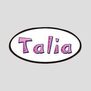 Talia Pink Giraffe Patch