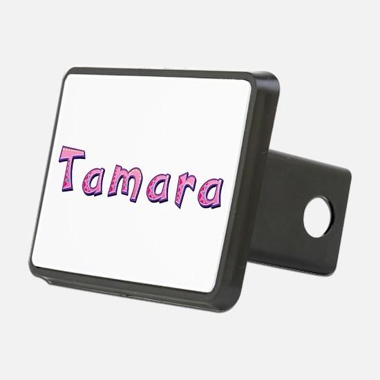 Tamara Pink Giraffe Hitch Cover