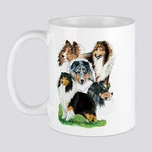 Sheltie Group Mug