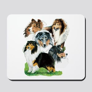 Sheltie Group Mousepad