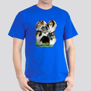 Sheltie Group Dark T-Shirt