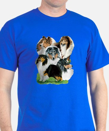 Sheltie Group T-Shirt