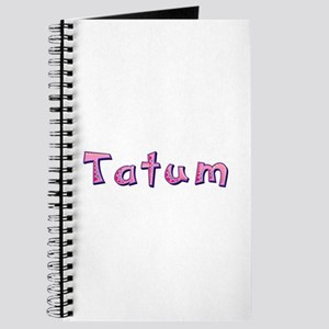Tatum Pink Giraffe Journal