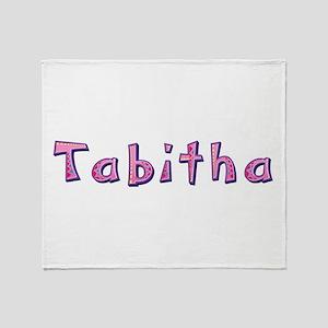 Tabitha Pink Giraffe Throw Blanket