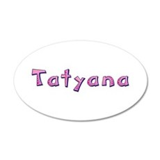 Tatyana Pink Giraffe Wall Decal