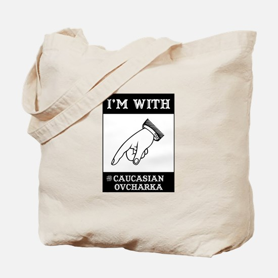 With the Caucasian Tote Bag