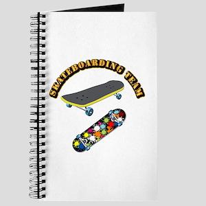Skateboard - Skateboarding Team Journal