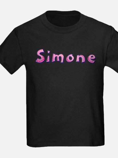 Simone Pink Giraffe T-Shirt