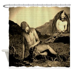 Suffering Of Gods Servant Job Shower Curtain