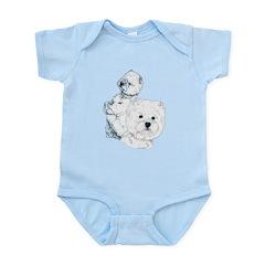 Westie Pair Infant Bodysuit