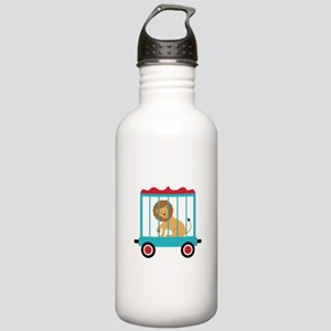 Circus Train Lion Cage Water Bottle