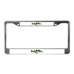 Pollock License Plate Frame