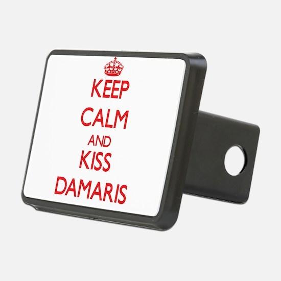 Keep Calm and Kiss Damaris Hitch Cover