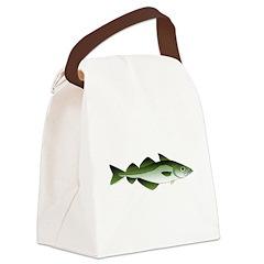 Pollock c Canvas Lunch Bag