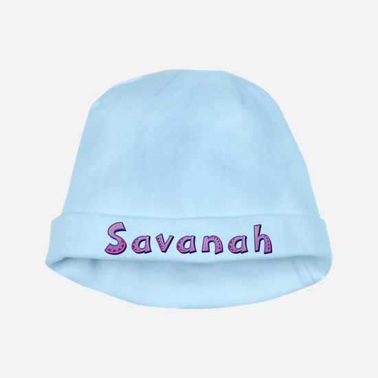 Savanah Pink Giraffe baby hat