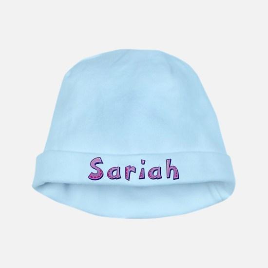 Sariah Pink Giraffe baby hat