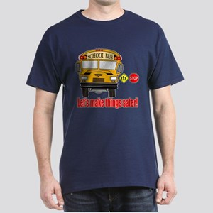Safer school bus Dark T-Shirt