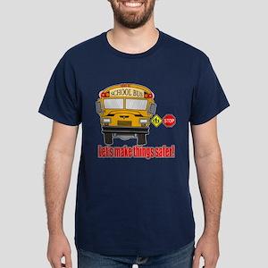 Safer school bus Dark T-Shirt
