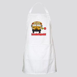 Safer school bus Apron