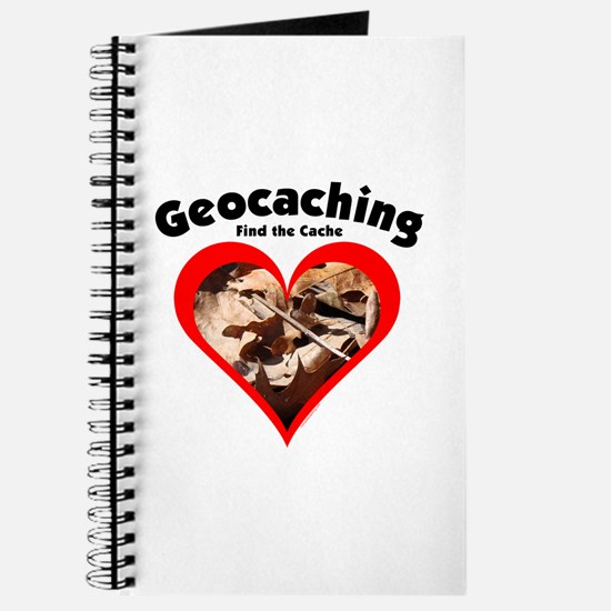 Geocaching Heart Journal