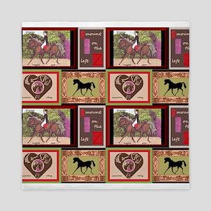 Dressage Horses Equestrian repeat pattern Queen Du