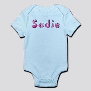 Sadie Pink Giraffe Body Suit