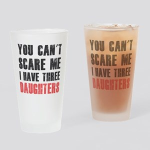 I have three daughters Drinking Glass