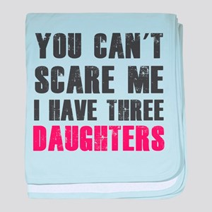 I have three daughters baby blanket
