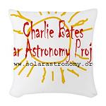 CBSAP Logo Woven Throw Pillow
