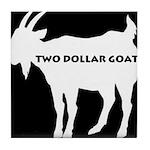 Goat Logo Tile Coaster