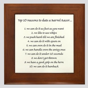 dating a barrel racer