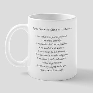 Barrel Racing Humor Mug