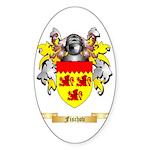 Fischov Sticker (Oval 50 pk)