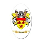 Fischov 20x12 Oval Wall Decal