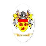 Fischmann Oval Car Magnet