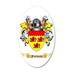 Fischman 35x21 Oval Wall Decal