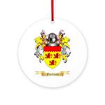 Fischman Ornament (Round)