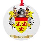 Fischlin Round Ornament