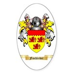 Fischleiber Sticker (Oval 50 pk)