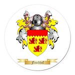 Fischhof Round Car Magnet