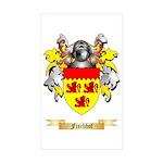 Fischhof Sticker (Rectangle 50 pk)